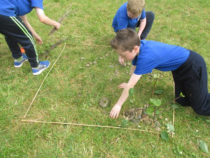 Map making using natural resources