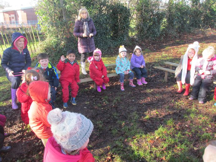 Our Forest School area