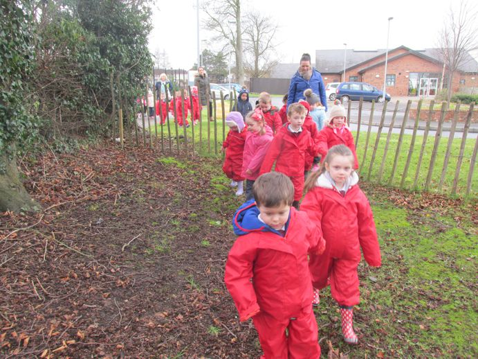 Walking to our Forest School
