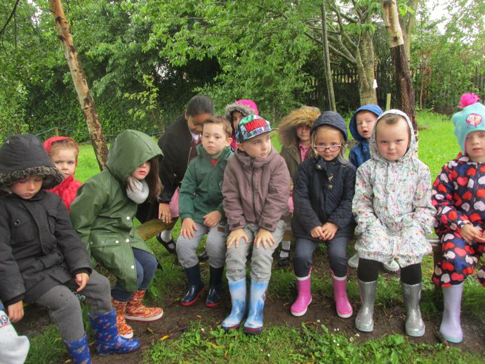 Seating in iur Forest School