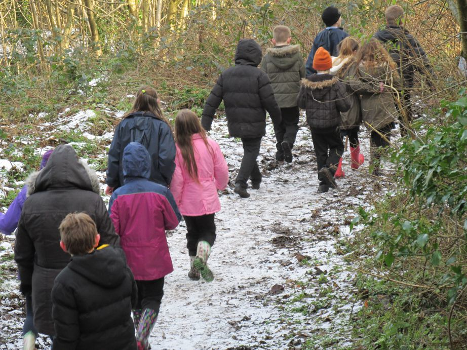 Forest School in the snow