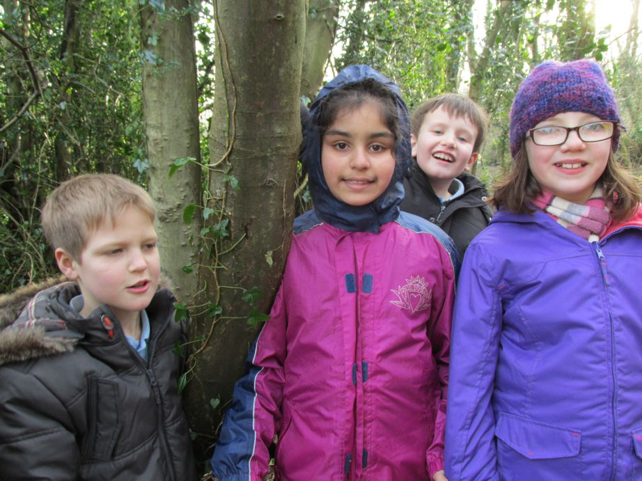 Smiles at Forest School