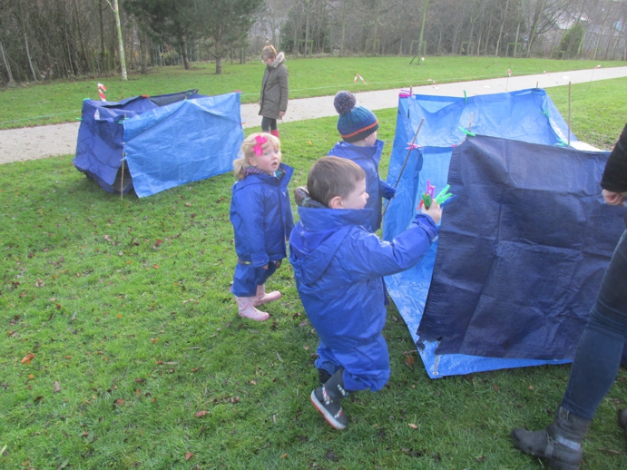 Creative writing in our dens