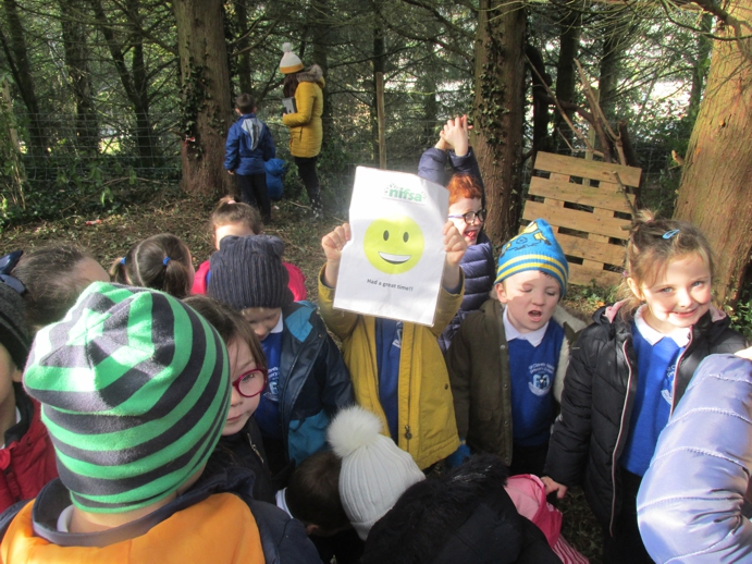 Happy Faces after Forest School