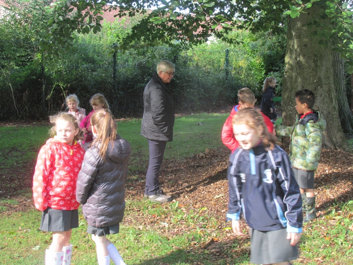 Getting used to our Forest School rules