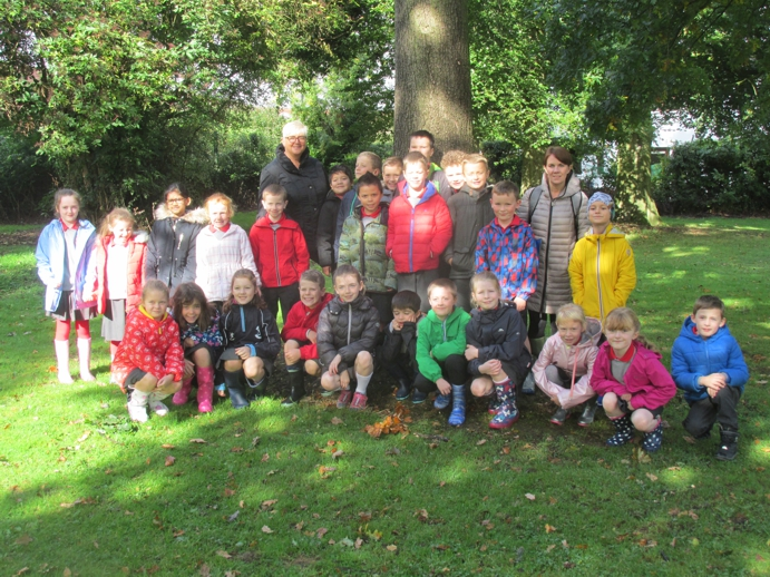 Group shot before we start our Forest School
