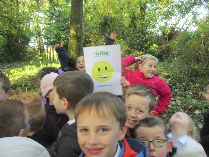 Enjoying Forest School