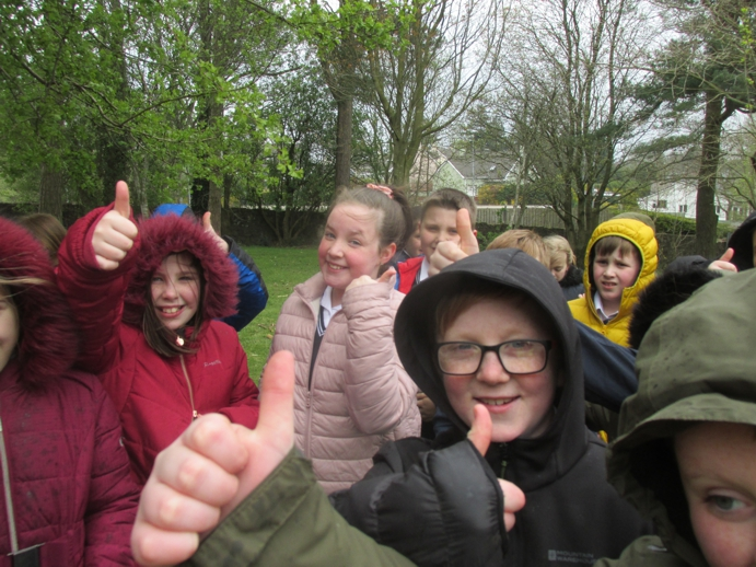 Thumbs up for forest school