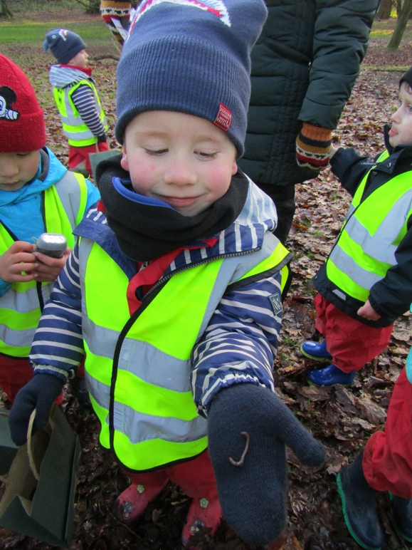 Exploring our Forest School